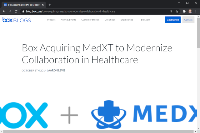 Box Acquiring MedXT